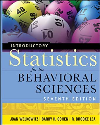 introductory statistics for the behavioral sciences 7