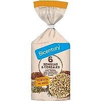 BICENTURY tortitas de maz 6 semillas y cereales
