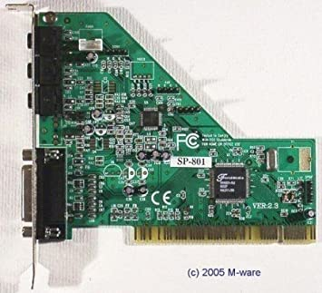 FORTEMEDIA SP-801 PCI SOUND CARD DRIVERS DOWNLOAD (2019)