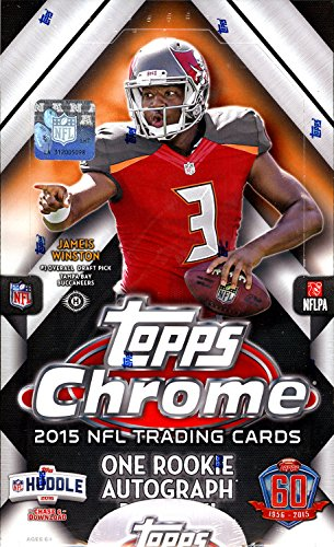 2015 Topps Chrome Football Hobby