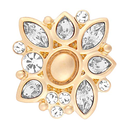 Ginger Snaps Gold Waverly Clear Interchangable Jewelry ()