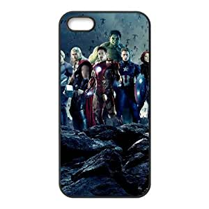 iPhone 5 5s Cell Phone Case Black The Avengers Hard Phone Case Covers CZOIEQWMXN25308