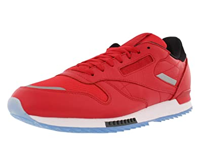 949076db135c Reebok Men s Classic Leather Ripple Low BP Primal Red White Black (BS5250)