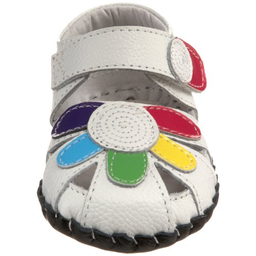 Bébé Multicolore Multi Fille Multicolore White pediped Wtm Ballerines Daisy Blanc ZqvEv6