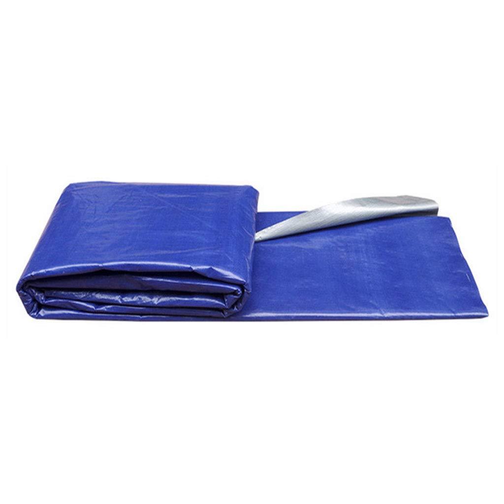 JNYZQ Wasserdichte und staubdichte Blaue Kunststoff Markise große Größe (größe : 6  18m)