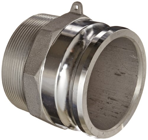 Dixon G400-F-AL Aluminum A380 Global Type F Cam and Groove Hose Fitting, 4