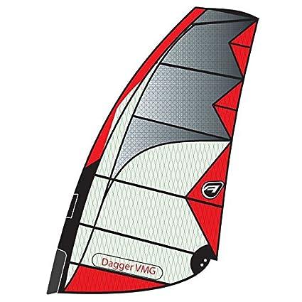 Amazon com : Aerotech Sails 2017 Dagger 8 5m Red Windsurfing