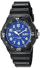 Casio Men's MRW200H-2B2V Classic Analog Quartz Black Watch