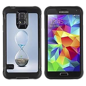 Suave TPU GEL Carcasa Funda Silicona Blando Estuche Caso de protección (para) Samsung Galaxy S5 V / CECELL Phone case / / Hourglass Design /