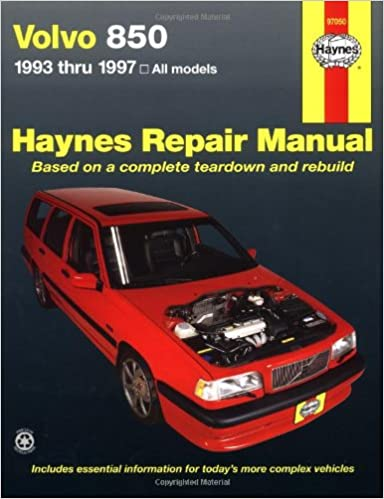 Volvo 850 series 1993 thru 1997 haynes manuals ed scott john h volvo 850 series 1993 thru 1997 haynes manuals ed scott john h haynes 0038345970504 amazon books fandeluxe