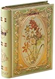 Basilur, Love Story Collection, Tea Book Volume I, Green Tea with Natural Sunflower, Cornflower & Bergamot, Collectable Metal Caddy, Loose Leaf Tea, Great Gift