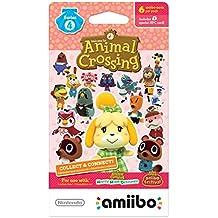 Nintendo Animal Crossing amiibo Cards Series 4 for Nintendo Wii U, 1-Pack (6 Cards/Pack)