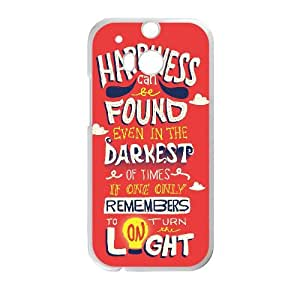 HTC One M8 Phone Case White Of Harry Potter quotes Y6YK