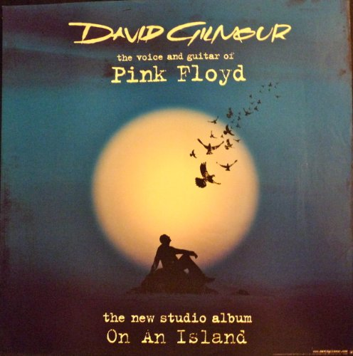 David Gilmour - On An Island - Rare Poster - Pink Floyd