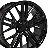20 camaro wheels - 20x8.5 Wheels Fit Chevy Camaro - ZL1 Style Satin Black Rims