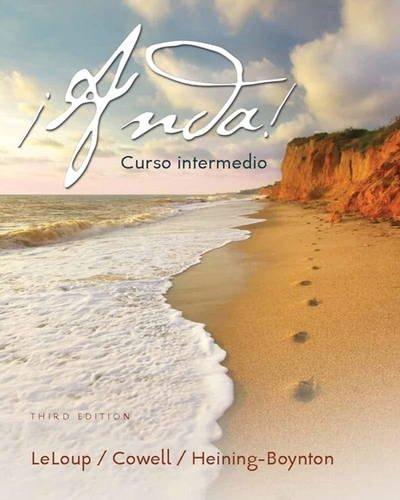 134146875 - ¡Anda! Curso intermedio (3rd Edition)