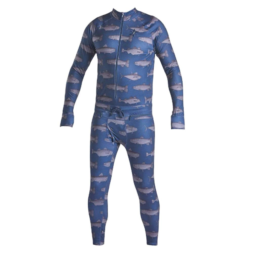 Image of AIRBLASTER Men's Hoodless Ninja Suits Active Base Layers
