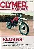 M417 1980-1984 Yamaha XT125 XT200 XT250 Clymer Motorcycle Repair Manual