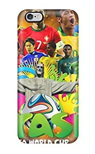 Durable Defender Case Cover For Ipod Touch 4 Hard Cover(fifa World Cup 2014s)