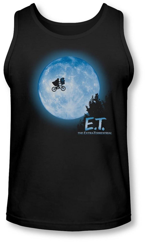 Et - Mens Moon Scene Tank-Top