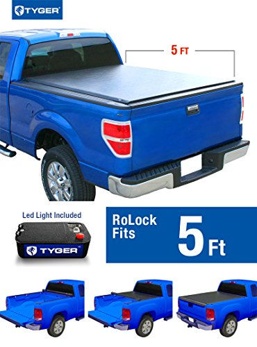 Tyger Auto TG-BC2C2054 RoLock Low Profile Roll-Up Truck B...