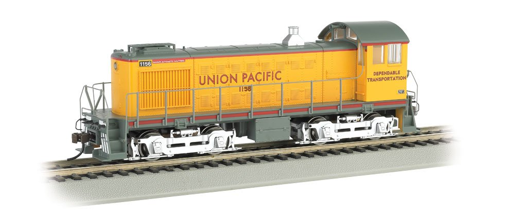 Bachmann Industries #1156 S4 Diesel Locomotive DCC Equipped Union Pacific (Dependable Transportation) Train Car, N Scale
