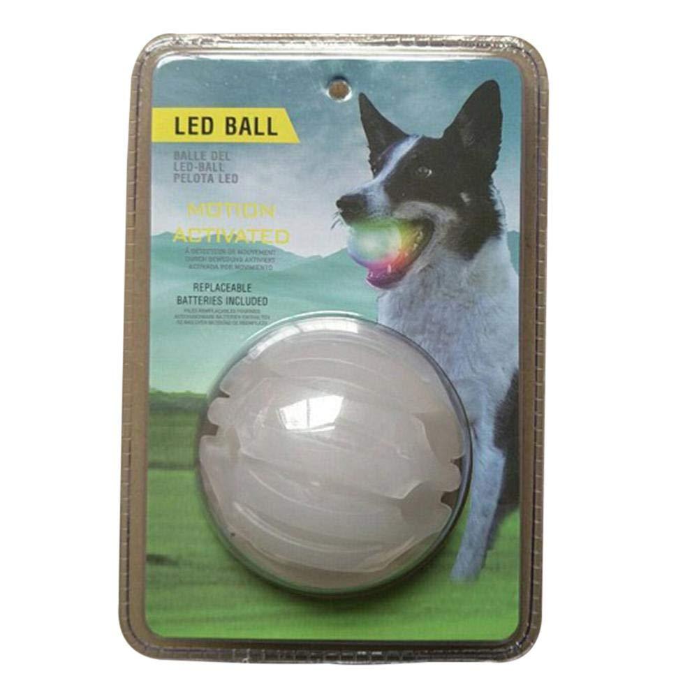 Augproveshak Pelota de Juguete para Mascotas, con Luces LED, para ...