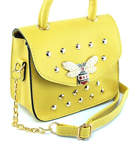JQ Bag cream JAKQUZEL Body Yellow White Off Women's Cross gw7rv0qgI