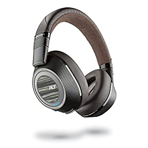 Plantronics BackBeat PRO 2 – Wireless Noise Cancelling Headphones (Black & Tan)