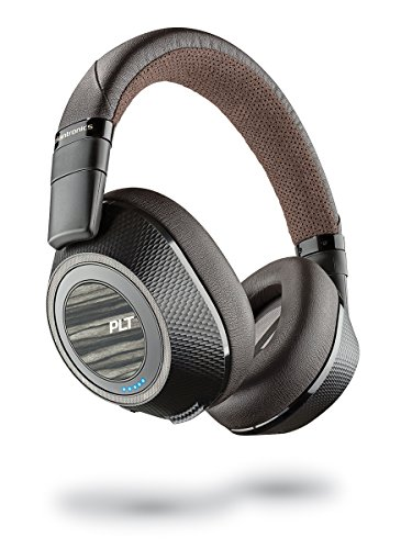 Plantronics Wireless Noise Cancelling Backbeat - Headphones (Black & Tan) (Pro (Pro Wireless Headset)