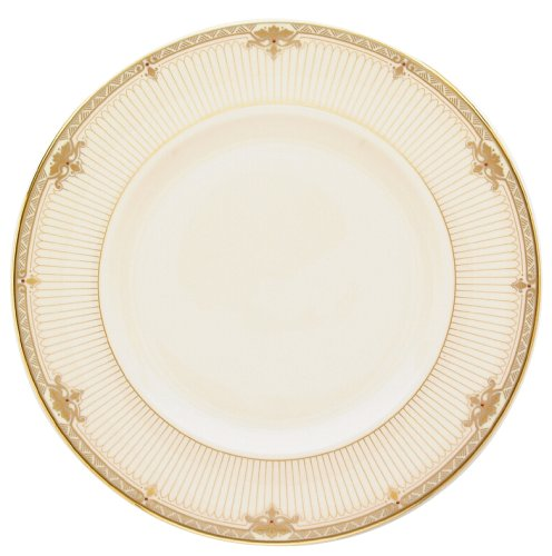 Lenox Republic Gold Banded Ivory China 9 Accent Plate
