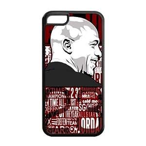 Chicago Bulls Michael Jordan Image Theme Back TPU Case for iphone 6 -by Allthingsbasketball