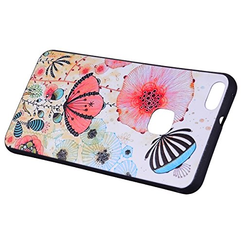 Color patrón TPU suave nuevo caso para Huawei P10 Lite ( Color : Arrow ) Butterfly