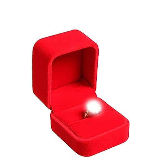 bigboba encanto joyas pantalla anillo caja de almacenaje ...