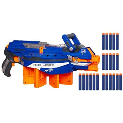 Nerf N-strike Elite Hail-fire Blaster from Nerf