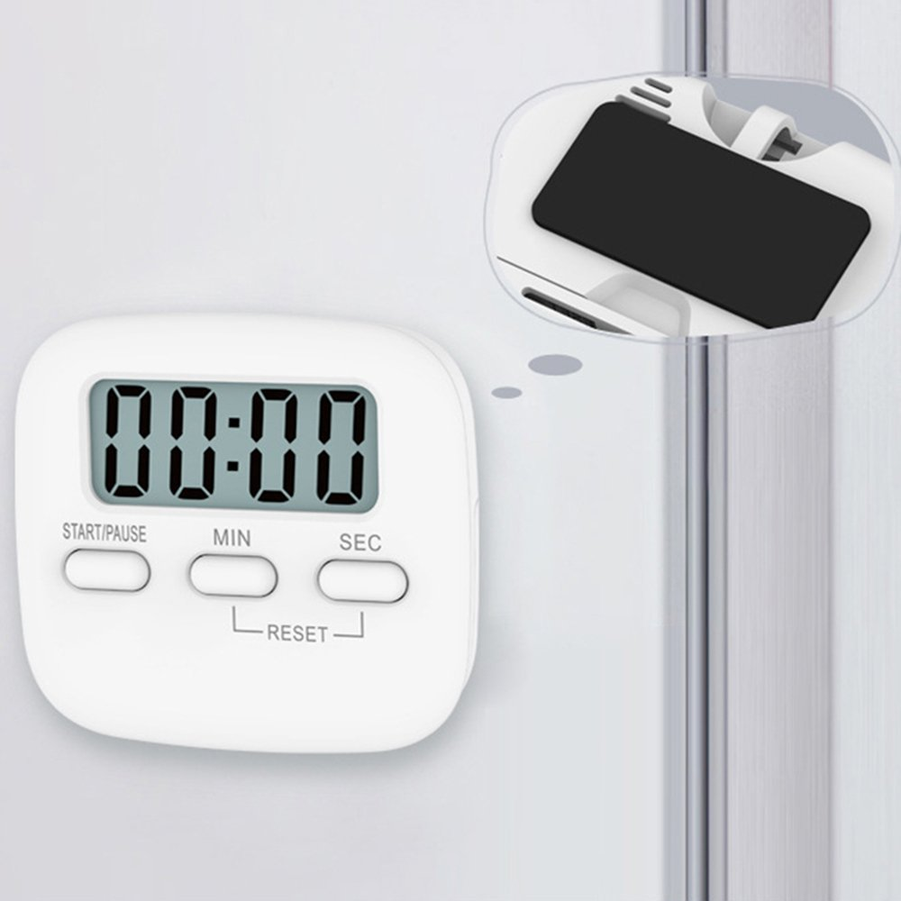 Digital Kitchen Portable LCD Cooking Timer Sport Count-Down Up Alarm Clock Magnetic Backing Stand Tangjie DF-86453