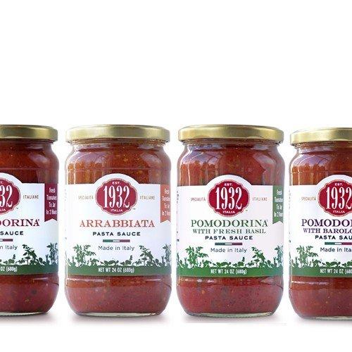 Menu 1932 Pasta Sauce - Pomodorina w/Barolo (24 ounce) (Menu Pomodorina Sauce)
