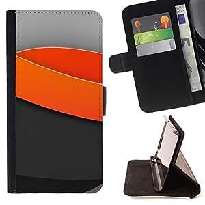 For LG G3 Case , Olas mínimas de luz- la tarjeta de Crédito Slots PU Funda de cuero Monedero caso cubierta de piel