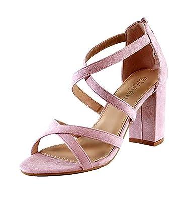 Schuhe Strand Knöchelriemen Sandalen Rutschfeste Mund Sommer Pink Toe Geschnürt Fisch Peep Urlaub Damen Gladiator Sandaletten Römer Kreuzgurt CodxBe