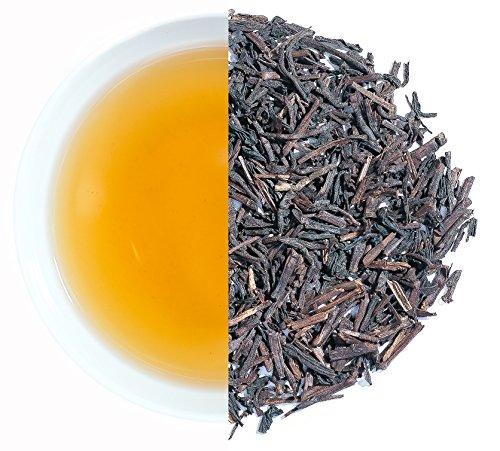 Hojicha Green Tea (Hojicha Green Tea direct from Chota Tingrai Tea Estate- Roasted Green Tea with an exquisite smoked barley flavor. Delicious hot or cold. (3.5 oz / 100 g or 50 cups of brewed Tea))