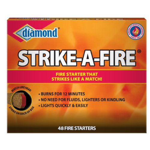 Diamond STRIKE-A-FIRE Starters, 48 Count