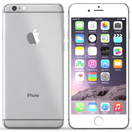 Apple iPhone 6 Plus 128GB Unlocked GSM 4G LTE Smartphone - Silver (Certified Refurbished)