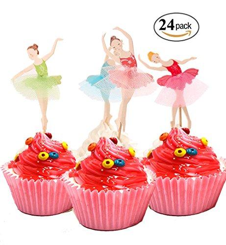 Cute Ballet Dancer Girls Fairy Peri Dessert Muffin