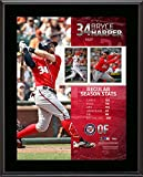 "Bryce Harper Washington Nationals 10.5"" x 13"" 2015 National League MVP Sublimated Plaque - Fanatics Authentic Certified"