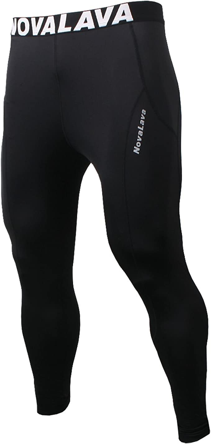 Runn Tights Base Layer Cool Dry Leggings for Sports Gym Fitness Roadbox Mens Compression Pants Workout