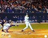 Cal Ripken Jr. Signed 16 x 20 Photo Baltimore Orioles Last Career At Bat - PSA/DNA Authentication - Autographed MLB Photos