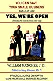 Yes, We're Open, William Manchee, 1929976240