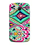 PrintVisa Batik Floral Pattern 3D Hard Polycarbonate Designer Back Case Cover for Samsung Galaxy Core I8260 :: Samsung Galaxy Core Duos I8262