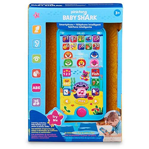 510FPdnKVZL - WowWee Pinkfong Baby Shark Smartphone - Educational Preschool Toy