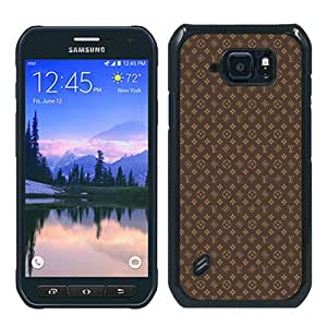 Louis Vuitton 04 Black Special Custom Picture Design Samsung Galaxy S6 Active Phone Case